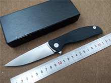 KESIWO KS072 tactical folding knife D2 blade Stainless Steel+G10 handle outdoor camping pocket ball bearing flipper EDC knives(China)