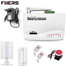 New Two antenna Wireless/Wired Home Intelligent Burglar GSM Voice Alarm System 900/1800/1900Mhz Auto dial alarm system