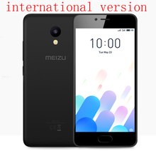 Original MEIZU M5C M5 C  Global version 2G 16G  MTK6737 Quad Core 64Bit Processor 5.0 inch HD IPS  Dual sim cellphone