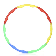 Newest Detachable Adjustable Multicoloured Hula Hoop for Gymnastic Sport For Gym Exercise Body Health Slim