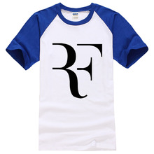 2017 new fashion mens summer tee shirt roger federer mma letter print men short sleeve brand cotton casual male t shirts homme