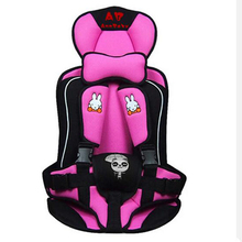 Car Seat Portable and Comfortable Infant Safety Seat belt Practical Baby Cushion for Kids Car Protection 0-4 Years Old Baby(China)