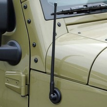 "14"" Auto Car Radio FM Antenna Signal Car Roof Radio FM AM Signal Replacement Antenna For Jeep Wrangler JK (2007-2016) P-N-P"