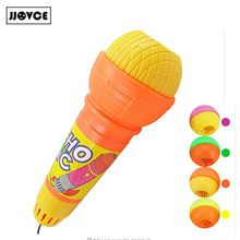JJOVCE  New Hot Modern Microphone Toy For Children Music Echo Mic Voice Changer Birthday Gift Kids Present Wholesale