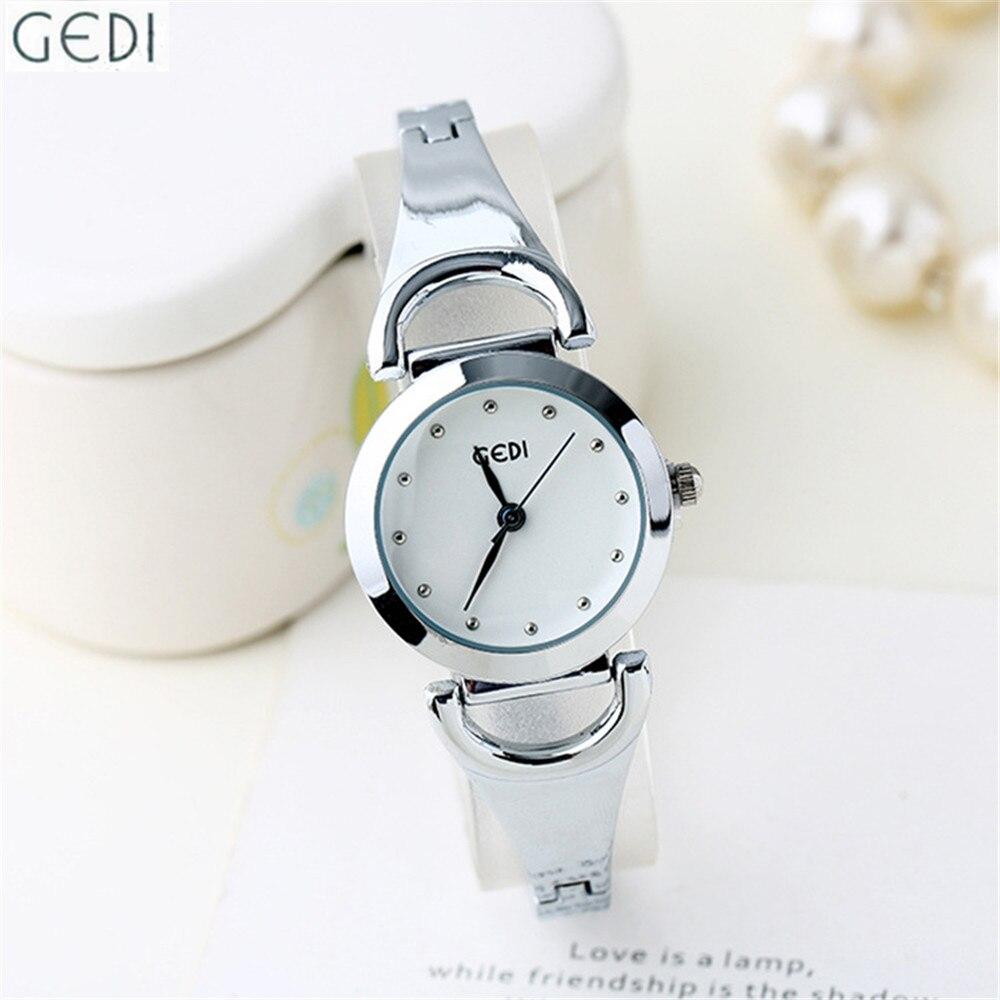 Luxury Brand Women Dress Watches Black and White Dial Ladies Fashion Waterproof Bracelet Clock Trendy Girls Round Dial Timepiece<br><br>Aliexpress
