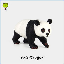 Mr.Froger Giant Panda Model Toy Wild Animals Toys Set Zoo plastic Solid Toys Children Animal Cute Dark Circles Bear Chinese nati