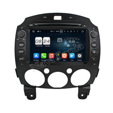 NAVITOPIA 1024*600 Octa Core 2G 8 Inch Pure Android 6.0 Car GPS Navigation for MAZDA 2 2010-2012 DVD Player with free map