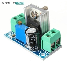 2PCS DC Linear Converter Buck Step Down LM317 Low Ripple Module Power Supply Adjustable Linear Regulator Module(China)