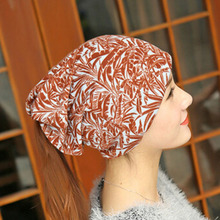 Retro Boho Style Winter Hat Warm Beanie Hat For Women Gypsy Design Hats Knitted Caps Vintage Slouchy Bonnet Skullies Beanies