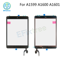 5pc/Lot Touch Panel White Black Gold A1601 A1600 A1599 For iPad mini 3 Digitizer LCD Front Glass Display Assembly(China)