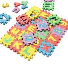2016 Kid Baby Toy Foam Puzzle Mat Numbers+Letters Floor Mats EVA Foam Puzzle Play Mat Baby Crawling Mats Carpet