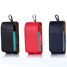 Hot New Pouch Bag for iQOS Wallet Case Electronic Cigarette Protective Pouch Bag for iQOS PU Leather Carrying Case(China)