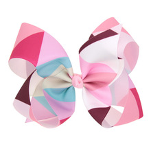 New Fahion Latest Twist Rainbow Color Bowknot Hairpin Girl large Bowknot Hair Clip Hair Accessories(China)