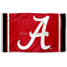 Alabama Crimson Tide Jersey Large Nation American Outdoor Indoor Hockey Baseball College Flag 3X5 Custom USA Any Team Flag