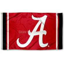 Alabama Crimson Tide Jersey Large Nation American Outdoor Indoor Hockey Baseball College Flag 3X5 Custom USA Any Team Flag(China)