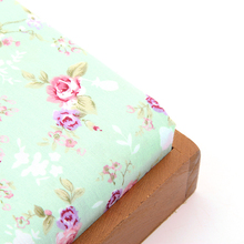Vintage Floral Print Cotton Fabric For Quilting DIY Sewing Products Baby Clothes Pillow&Curtain 50x160cm J1-1-131