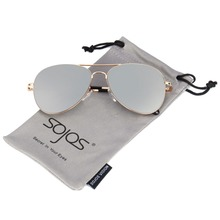 SojoS Brand Classic Aviator Pilot Metal Sunglasses Men Spring Hinges Mirror Sun Glasses Male Fishing Female Outdoor Sports 1030