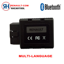 Supper for Renault-COM Bluetooth Car Diagnostic Tool for Renault COM Diagnostic & Key Program Code Reader for Renault Can Clip(China)