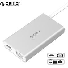 ORICO ADS2 Matedock LAN Adapter Network Ethernet Wired Network For Huawei Matebook Type-C Multi-function Docking Station(China)
