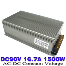 Switching power supply 1500W DC90V 16.7A Single Output smps Transformer 110V 220V AC to DC 90v UPS for Stepper CNC 3D Print CCTV