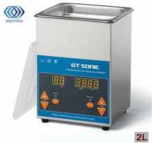50W 2L Industrial Digital Ultrasonic Cleaner for Filter Injector Cleaning and Auto Parts Cleaning + Adaptor 220V EU Plug