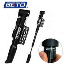BETO Cycling Bike Bicycle 1-way Plastic Telescoping Hand Pressure Inflator Tire Pump AD1007