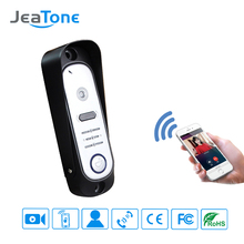 JeaTone 1.0MP Smart Phone Wifi Door Bell With Camera Wireless Video Intercom For Home Apartment Security Systems(China)