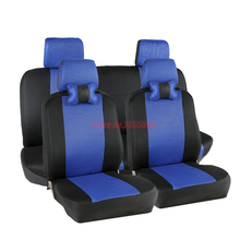 (Front+Rear) Universal car seat covers For Benz A B C D E S series Vito Viano Sprinter Maybach CLA CLK GLC  accessories styling