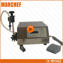 CE Certificate liquid/ oil / alcohol/ pesticide Filling machine