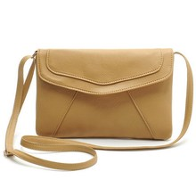 Vintage Leather Handbags Hot Sale Women Envelope Clutches Ladies Party Purse Famous Designer Crossbody Shoulder Messenger Bags