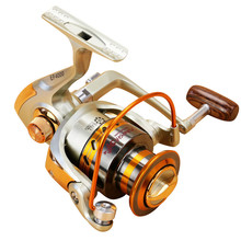 2017 Fishing Pesca 12BB Bearing Ball Front Drag Metal Spinning Spool Reels 3000/4000/5000 Aluminum Fishing Reel Saltwater Wheels