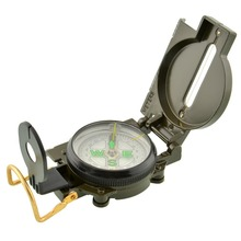 Pocket Military Outdoor Survival Hiking Sighting Lensatic Compass Multifunction