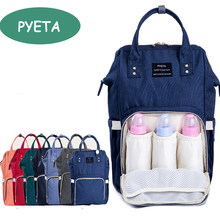 PYETA Fashion Mummy Maternity Nappy Bag Brand Large Capacity Baby Bag Travel Backpack Desinger Nursing Bag(China)