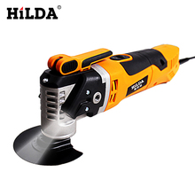 HILDA Multi-Function Electric Saw Renovator Tool Oscillating Trimmer Home Renovation Tool Trimmer woodworking Tools(China)