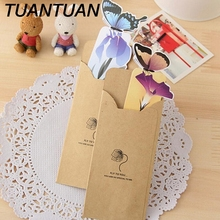 TUANTUAN 3D Butterfly Book marks korean Stationery  Cute Kawaii Lovely Paper Painted Bookmark Vintage Bookzzi