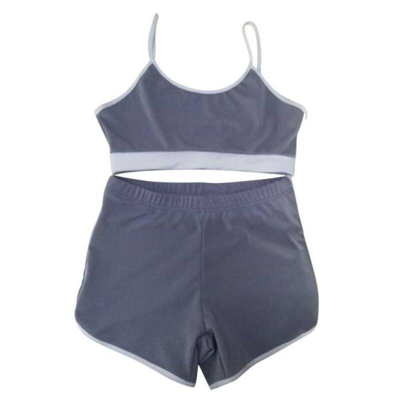 Sport Suit Tracksuit Bra+Short Sportswear 12