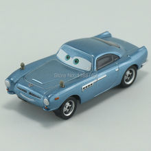 Pixar Cars Finn McMissile Diecast Metal Toy Car For Children Gift 1:55 Loose New In Stock