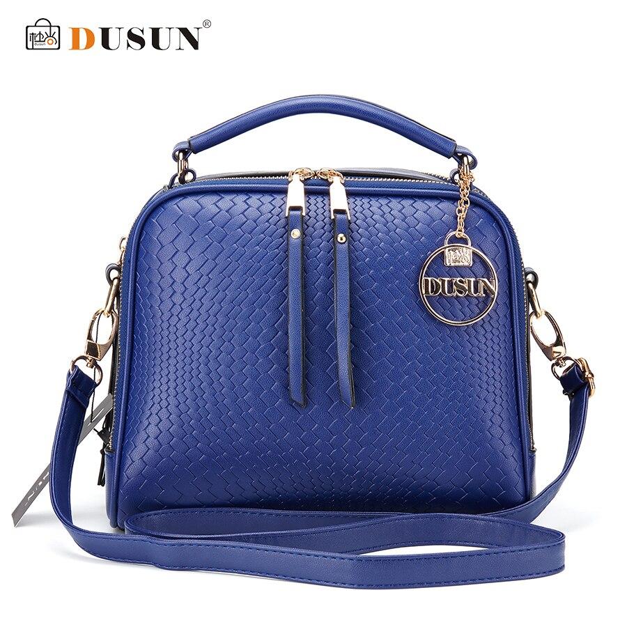 DUSUN Luxury Knitting Pattern Handbag Woman Messenger Fashion Women Famous Design Handbags Feminina Shoulder Bag Casual Tote<br><br>Aliexpress