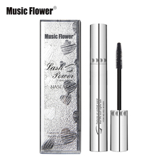 Professional Brand 3D Black Mascara Waterproof Lengthening Curling Eyelashes Rimel Mascara Silicone Women Makeup Bushy Mascara(China)