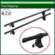 e2c 48'' Car Top Roof Cross Bars Crossbars Luggage Rack Cargo Rack Carrier Rack(China)