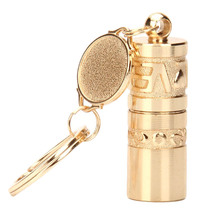 2017 New Portable 5 LED Mini Flashlight Light Torch Aluminum Keychain KeyRing Chain Top Quality Keychain(China)