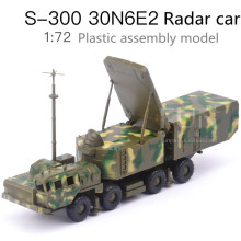 1:72Plastic Assembled Missile Launching Toys,S300 Ground-to-Air Missile System 30N6E2 Radar Car, Educational Toys, Free Shipping