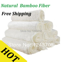 Dish Cleaning Cloths Wash towel bamboo fibre wash cloth wash towel detergent double layer