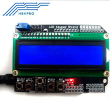 2PCS 1602 LCD Board Keypad Shield Blue Backlight For Arduino Duemilanove Robot  BEST PRICE