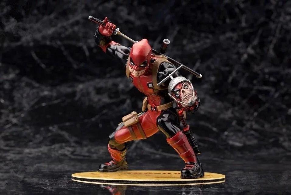 Marvel X-Men America Anime Deadpool Red Limited edition Super Hero Avenger Action Figure 16cm PVC Kid Gift Collection Model<br>