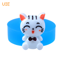 Buy DYL539U 28.3mm Cute Cat Silicone Mold Animal Mold Cake Decoration, Fondant, Chocolate, Resin, Gum Paste, DIY Handmade, Icing for $1.38 in AliExpress store