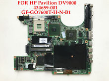 High quality laptop motherboard for HP Pavilion DV9000 DV9500 434659-001 DDR2 Update GF-GO7600T-H-N-B1 100% Fully tested