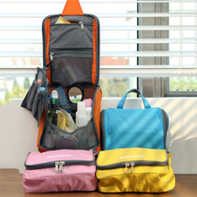 1PCS Waterproof Travel Outdoor Folding Home Tote Toiletries Laundry Nylon Pouch Storage Bag Organizer Container