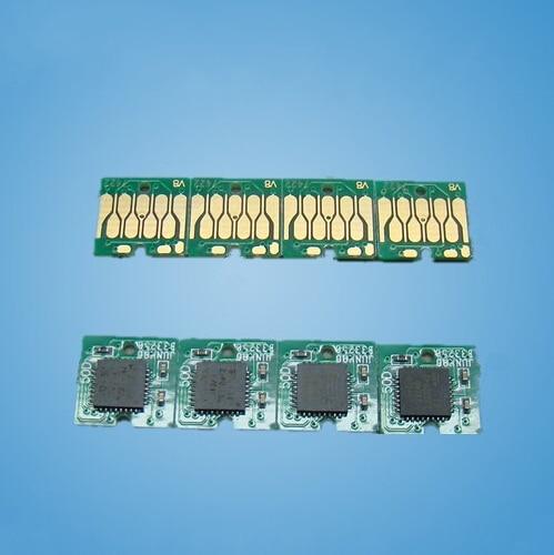 4 Color Auto Reset Chip T7421 - T7424 Permanent Chip for EPSON Surecolor F6080 F7080 printer cartridge chip<br><br>Aliexpress