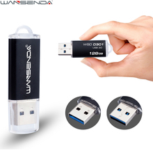 New WANSENDA Metal Fast Speed USB 3.0 Pen Drive USB Flash Drive 4GB 8GB 16GB 32GB 64GB 128GB Pendrive USB Stick